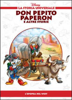 Copertina STORIA UNIVERSALE DISNEY n.24 - Don Pepito Paperon e altre storie, WALT DISNEY PRODUCTION