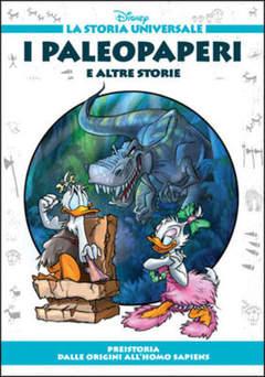 Copertina STORIA UNIVERSALE DISNEY n.1 - I Paleopaperi e altre storie, WALT DISNEY PRODUCTION