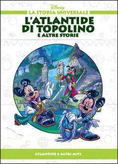 Copertina STORIA UNIVERSALE DISNEY n.6 - L'Atlantide di Topolino e altre storie, WALT DISNEY PRODUCTION