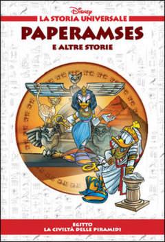 Copertina STORIA UNIVERSALE DISNEY n.4 - Paperamses e altre storie, WALT DISNEY PRODUCTION