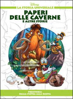Copertina STORIA UNIVERSALE DISNEY n.2 - Paperi delle caverne e altre storie, WALT DISNEY PRODUCTION
