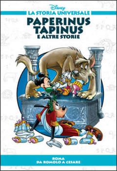 Copertina STORIA UNIVERSALE DISNEY n.9 - Paperinus Tapinus e altre storie, WALT DISNEY PRODUCTION