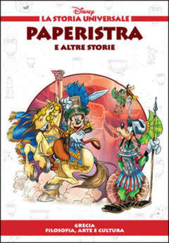 Copertina STORIA UNIVERSALE DISNEY n.8 - Paperistra e altre storie, WALT DISNEY PRODUCTION