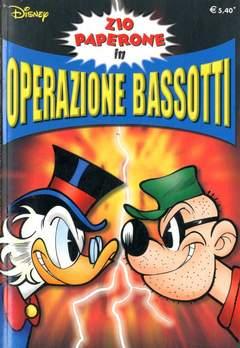 Copertina SUPER DISNEY n.37 - Zio Paperone in Operazione Bassotti, WALT DISNEY PRODUCTION