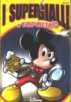 Copertina SUPER DISNEY n.42 - I Supergialli di Topolino, WALT DISNEY PRODUCTION