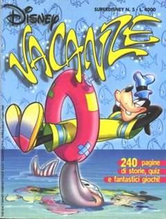 Copertina SUPER DISNEY n.5 - Disney Vacanze, WALT DISNEY PRODUCTION