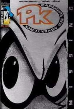Copertina SUPER DISNEY n.7 - PKNA Speciale 97: Missing, WALT DISNEY PRODUCTION