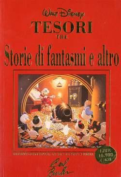 Copertina TESORI edicola n.3 - STORIE DI FANTASMI E ALTRO, WALT DISNEY PRODUCTION