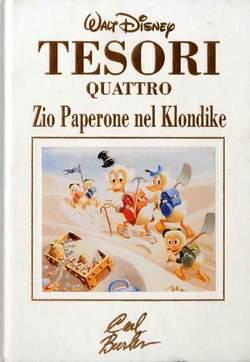 Copertina TESORI n.4 - TESORI                       4, WALT DISNEY PRODUCTION
