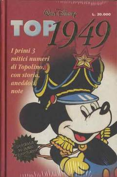 Copertina TOP 1949 LIBRERIA n. - TOP 1949 CARTONATO E NUMERATO ALL.N1 ANASTATICO, WALT DISNEY PRODUCTION