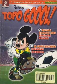 Copertina TOPO GOOOL n.2 - TOPO GOOOL                   2, WALT DISNEY PRODUCTION