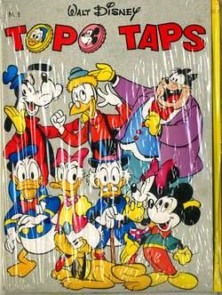 Copertina TOPO TAPS n.1 - TOPO TAPS                    1, WALT DISNEY PRODUCTION