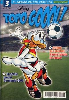 Copertina TOPOGOL n.3 - TOPOGOL                      3, WALT DISNEY PRODUCTION