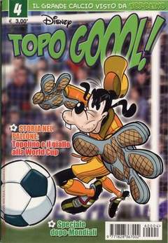 Copertina TOPOGOL n.4 - TOPOGOL                      4, WALT DISNEY PRODUCTION