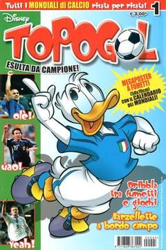 Copertina TOPOGOL n.5 - TOPOGOL                      5, WALT DISNEY PRODUCTION