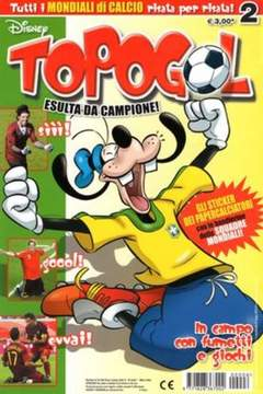 Copertina TOPOGOL n.6 - TOPOGOL                      6, WALT DISNEY PRODUCTION