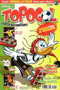 Copertina TOPOGOL n.7 - TOPOGOL                      7, WALT DISNEY PRODUCTION