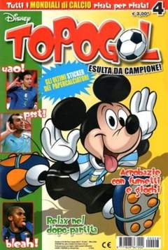 Copertina TOPOGOL n.8 - TOPOGOL                      8, WALT DISNEY PRODUCTION
