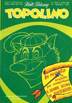 Copertina TOPOLINO LIBRETTO n.1016 - TOPOLINO  1016, WALT DISNEY PRODUCTION