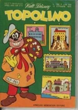 Copertina TOPOLINO LIBRETTO n.1037 - TOPOLINO  1037, WALT DISNEY PRODUCTION