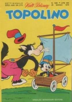 Copertina TOPOLINO LIBRETTO n.1061 - TOPOLINO  1061, WALT DISNEY PRODUCTION