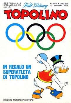 Copertina TOPOLINO LIBRETTO n.1073 - TOPOLINO  1073, WALT DISNEY PRODUCTION
