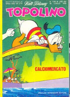 Copertina TOPOLINO LIBRETTO n.1183 - TOPOLINO  1183, WALT DISNEY PRODUCTION