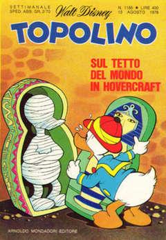 Copertina TOPOLINO LIBRETTO n.1185 - TOPOLINO  1185, WALT DISNEY PRODUCTION