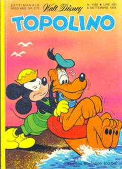 Copertina TOPOLINO LIBRETTO n.1188 - TOPOLINO  1188, WALT DISNEY PRODUCTION