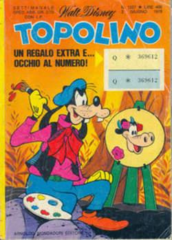 Copertina TOPOLINO LIBRETTO n.1227 - TOPOLINO  1227, WALT DISNEY PRODUCTION