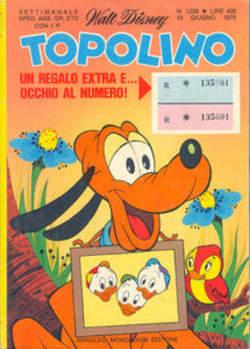 Copertina TOPOLINO LIBRETTO n.1228 - TOPOLINO  1228, WALT DISNEY PRODUCTION
