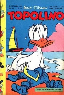 Copertina TOPOLINO LIBRETTO n.123 - TOPOLINO   123, WALT DISNEY PRODUCTION