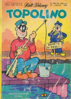 Copertina TOPOLINO LIBRETTO n.1233 - TOPOLINO  1233, WALT DISNEY PRODUCTION