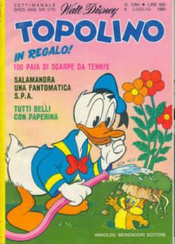 Copertina TOPOLINO LIBRETTO n.1284 - TOPOLINO  1284, WALT DISNEY PRODUCTION