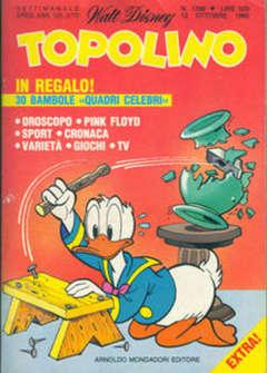 Copertina TOPOLINO LIBRETTO n.1298 - TOPOLINO  1298, WALT DISNEY PRODUCTION
