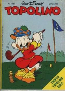 Copertina TOPOLINO LIBRETTO n.1387 - TOPOLINO  1387, WALT DISNEY PRODUCTION