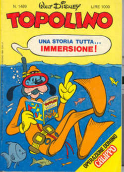 Copertina TOPOLINO LIBRETTO n.1489 - TOPOLINO  1489, WALT DISNEY PRODUCTION