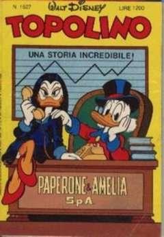 Copertina TOPOLINO LIBRETTO n.1527 - TOPOLINO  1527, WALT DISNEY PRODUCTION