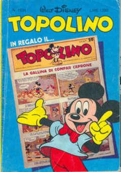 Copertina TOPOLINO LIBRETTO n.1534 - Topolino, WALT DISNEY PRODUCTION