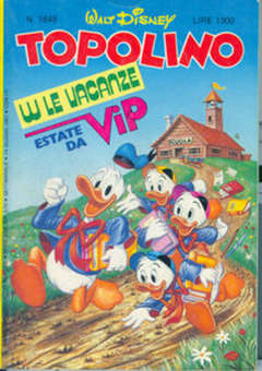 Copertina TOPOLINO LIBRETTO n.1646 - TOPOLINO  1646, WALT DISNEY PRODUCTION