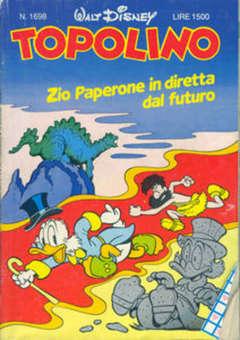 Copertina TOPOLINO LIBRETTO n.1698 - TOPOLINO  1698, WALT DISNEY PRODUCTION