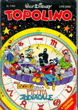 Copertina TOPOLINO LIBRETTO n.1783 - TOPOLINO  1783, WALT DISNEY PRODUCTION