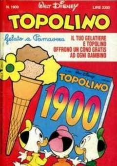 Copertina TOPOLINO LIBRETTO n.1900 - TOPOLINO  1900, WALT DISNEY PRODUCTION