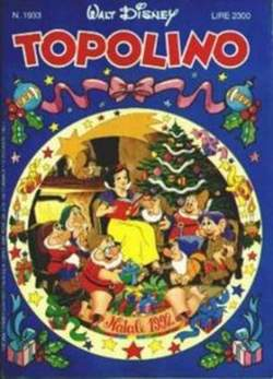 Copertina TOPOLINO LIBRETTO n.1933 - TOPOLINO  1933, WALT DISNEY PRODUCTION