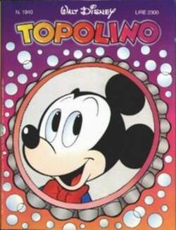 Copertina TOPOLINO LIBRETTO n.1940 - TOPOLINO  1940, WALT DISNEY PRODUCTION