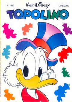 Copertina TOPOLINO LIBRETTO n.1945 - TOPOLINO  1945, WALT DISNEY PRODUCTION