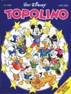 Copertina TOPOLINO LIBRETTO n.1949 - TOPOLINO  1949, WALT DISNEY PRODUCTION
