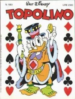 Copertina TOPOLINO LIBRETTO n.1951 - TOPOLINO  1951, WALT DISNEY PRODUCTION