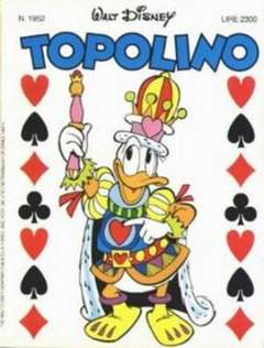 Copertina TOPOLINO LIBRETTO n.1952 - TOPOLINO  1952, WALT DISNEY PRODUCTION