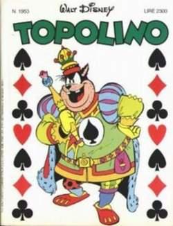 Copertina TOPOLINO LIBRETTO n.1953 - TOPOLINO  1953, WALT DISNEY PRODUCTION